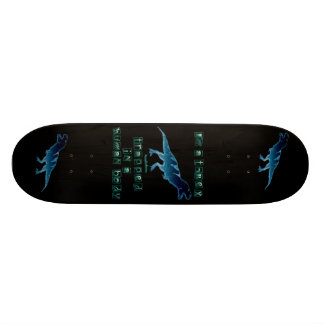 I m a T-Rex Custom Skate Board