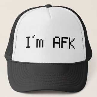 i´m afk - awy from keyboard trucker hat