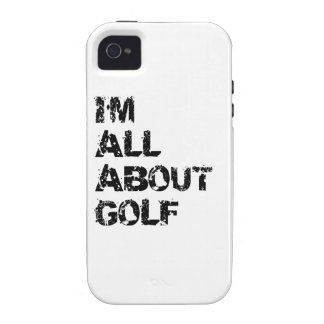 I m All About Golf iPhone 4/4S Case
