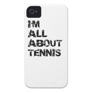 I m All About Tennis iPhone 4 Case-Mate Cases