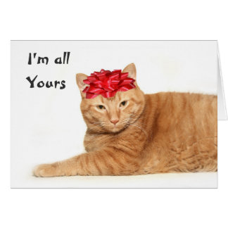 I m all yours card