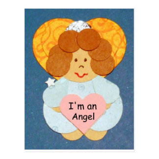 I m an Angel Post Card