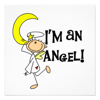 I m an Angel T-shirts and Gifts Announcements