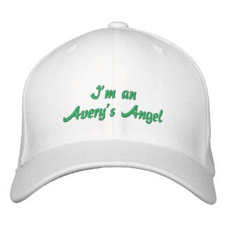 I m an Avery s Angel Embroidered Baseball Cap