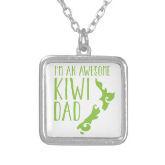 I m an awesome KIWI dad New Zealand Personalized Necklace
