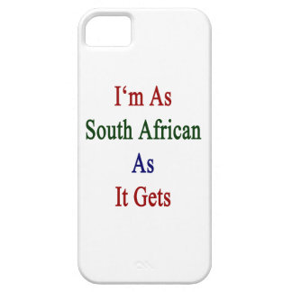 I m As South African As It Gets iPhone 5 Case