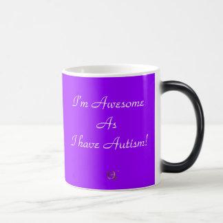 I'm Awesome As I have Autism! Mugs