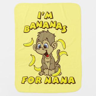 I'm Bananas For Nana Baby Blanket