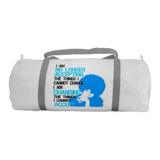 I'm Changing Things Duffel Bag Gym Duffel Bag