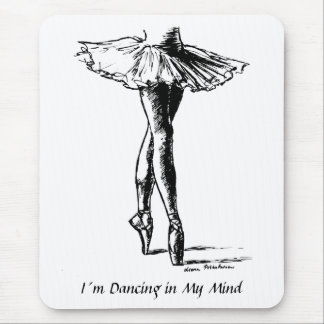 I´m Dancing in My Mind Mouse Mat