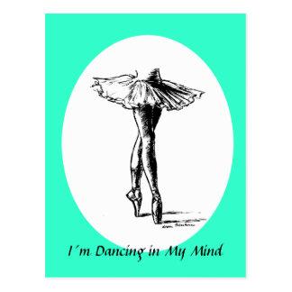 I´m Dancing in My Mind Postcard
