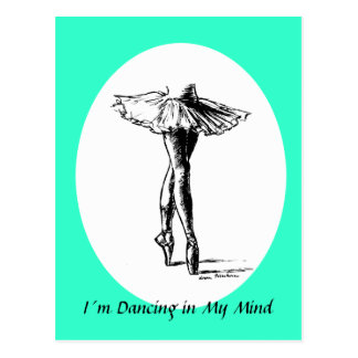 I´m Dancing in My Mind Postcards
