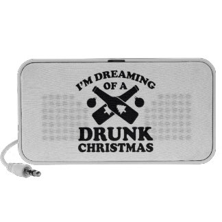 I'm Dreaming Of A Drunk Christmas Travelling Speakers