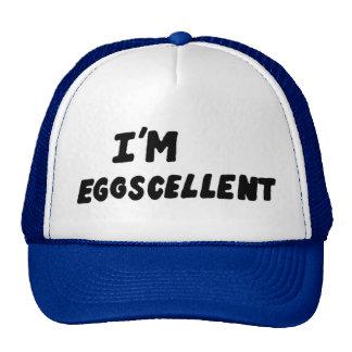 I m Eggscellent Trucker Hat