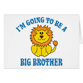 I m Going To Be A Big Brother Greeting Card