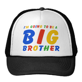 I m Going To Be A Big Brother Trucker Hat