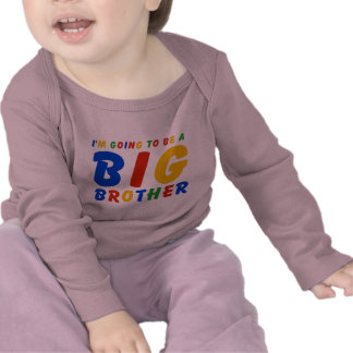 I m Going To Be A Big Brother T-shirt