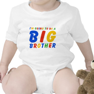 I m Going To Be A Big Brother Baby Bodysuit