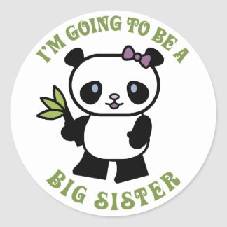 I m Going To Be A Big Sister Stickers