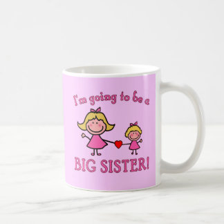 I m Going to Be a Big Sister Tshirt Mug