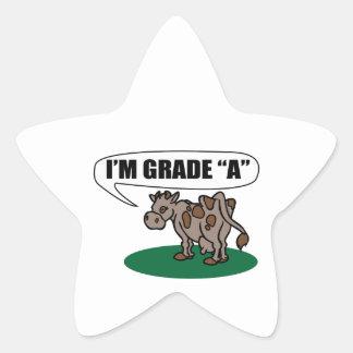 I m Grade A Sticker