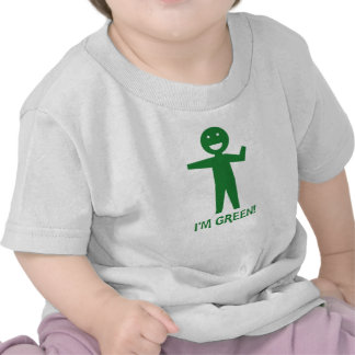I m Green T Shirt