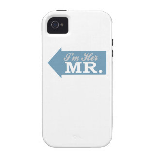I m Her Mr Blue Arrow iPhone 4 Covers