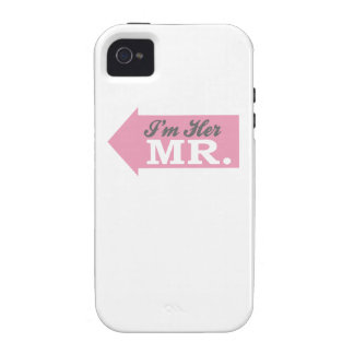 I m Her Mr Pink Arrow Case For The iPhone 4