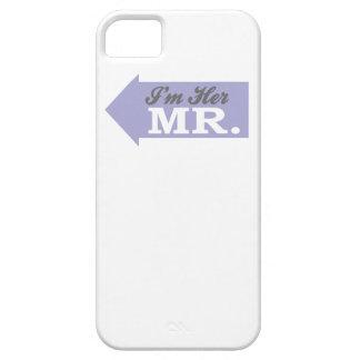 I m Her Mr Violet Arrow iPhone 5 Cases
