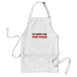 I m Here For The Food Apron