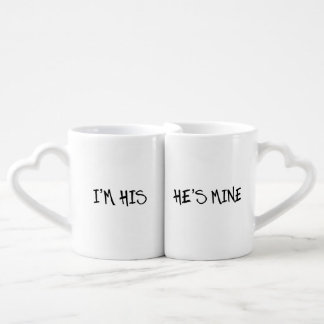 I M HIS HE S MINE HIS AND HIS GAY WEDDING GIFT LOVERS MUG