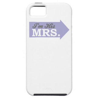 I m His Mrs Violet Purple Arrow iPhone 5 Cases