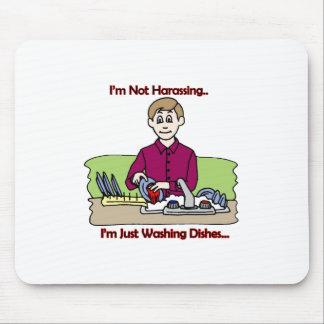 I m Hot Harassing - Fixed Mousemat