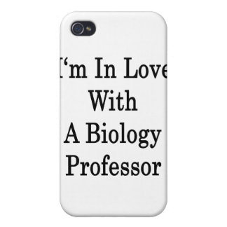 I m In Love With A Biology Professor Case For iPhone 4
