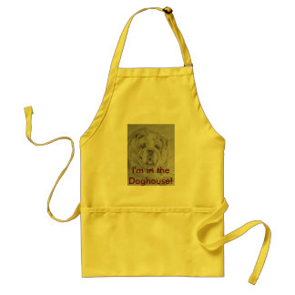 I,m in the Doghouse. Bulldog. Standard Apron