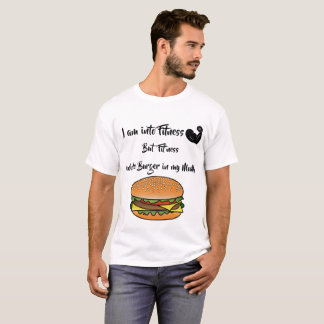 I' m into Fitness Funny Food Lover Shirt
