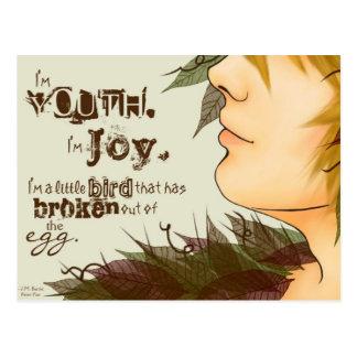 I m Joy Postcard