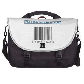 I m Limited Edition Barcode Laptop Bag