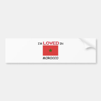 I m Loved In MOROCCO Bumper Sticker