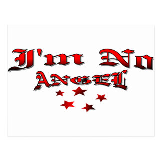 I m No Angel Post Cards