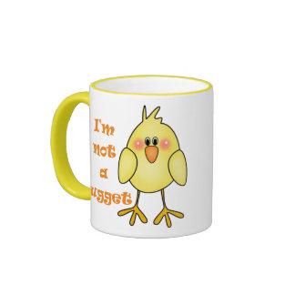 I m Not A Nugget Vegan Vegetarian Mug Cup