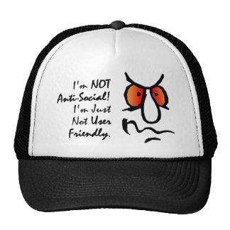 I'm Not Anti-Social (2) Trucker Hat