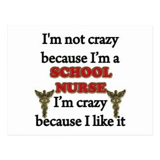I m Not Crazy Postcards