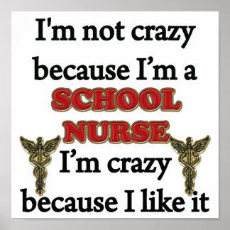 I m Not Crazy Print