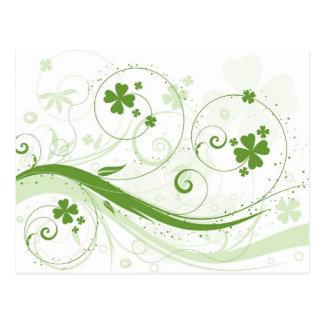 I m not Irish Kiss me anyway Post Card
