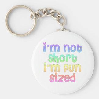I m not short I m fun sized keychain