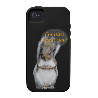 I m Nuts About You iPhone 4/4S Cases