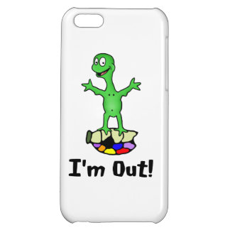 I'm Out Turtle iPhone 5C Cases