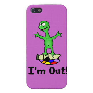 I'm Out Turtle Case For The iPhone 5