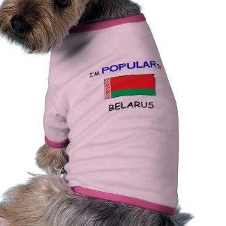 I m Popular In BELARUS Doggie T Shirt